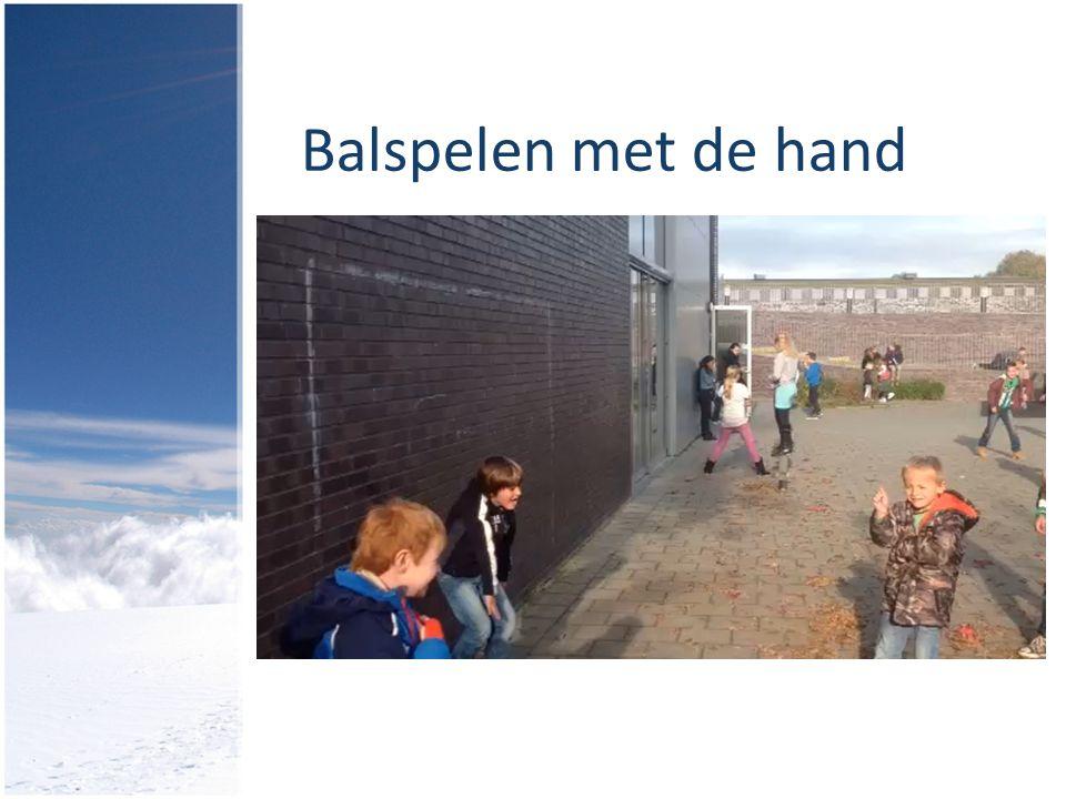 Balspelen met de hand