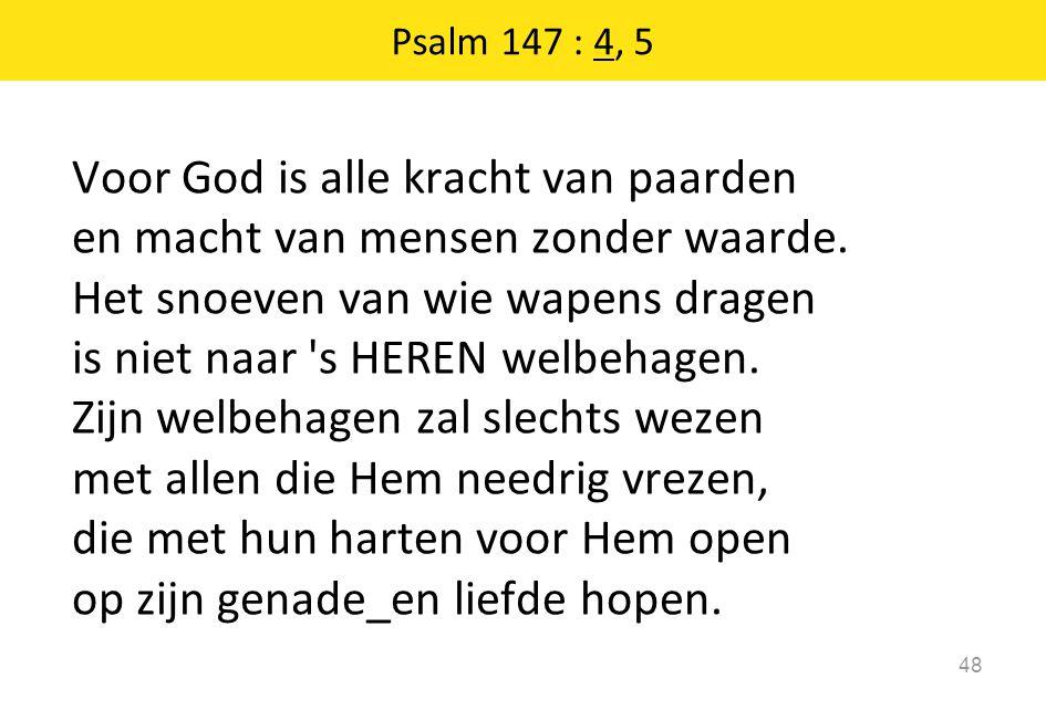 Psalm 147 : 4, 5