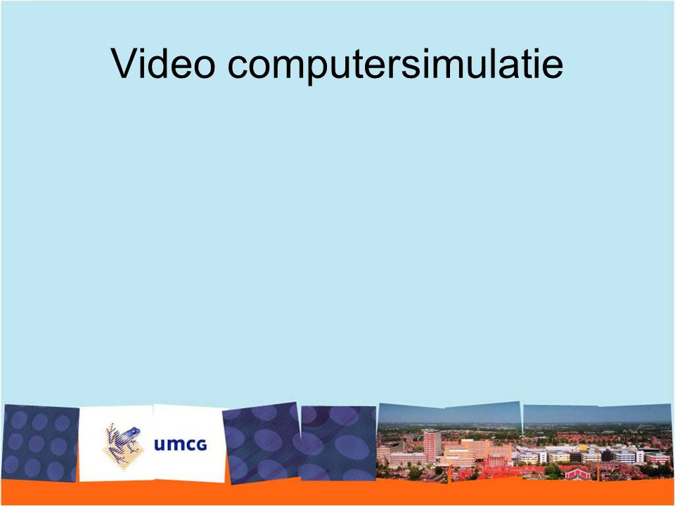 Video computersimulatie