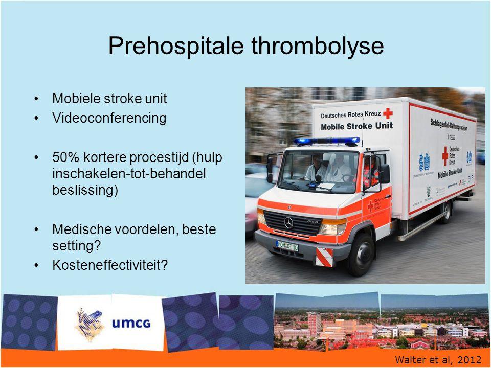 Prehospitale thrombolyse