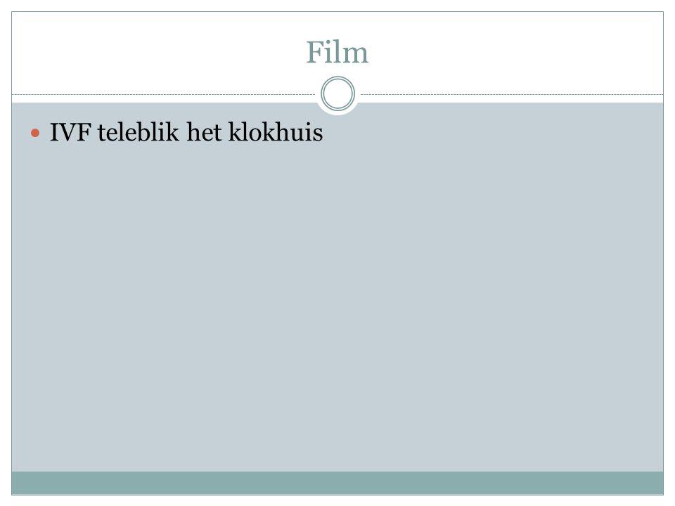 Film IVF teleblik het klokhuis