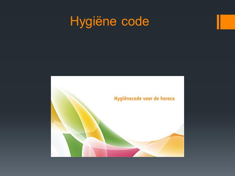 Hygiëne code