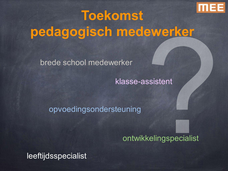 pedagogisch medewerker