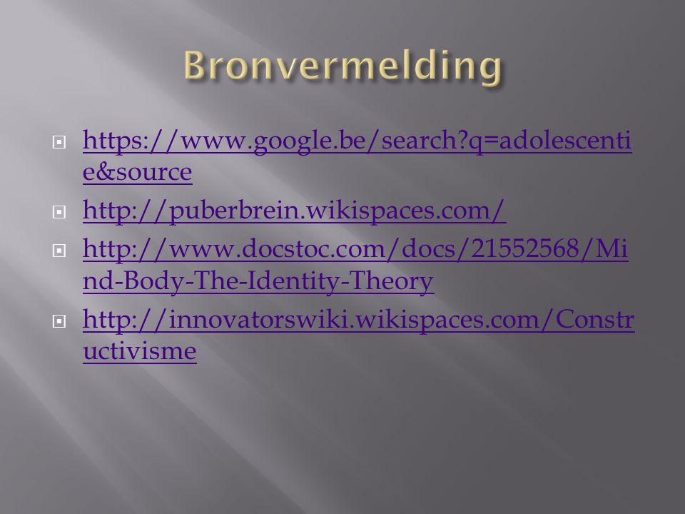 Bronvermelding https://www.google.be/search q=adolescentie&source