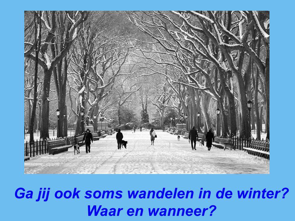 Ga jij ook soms wandelen in de winter