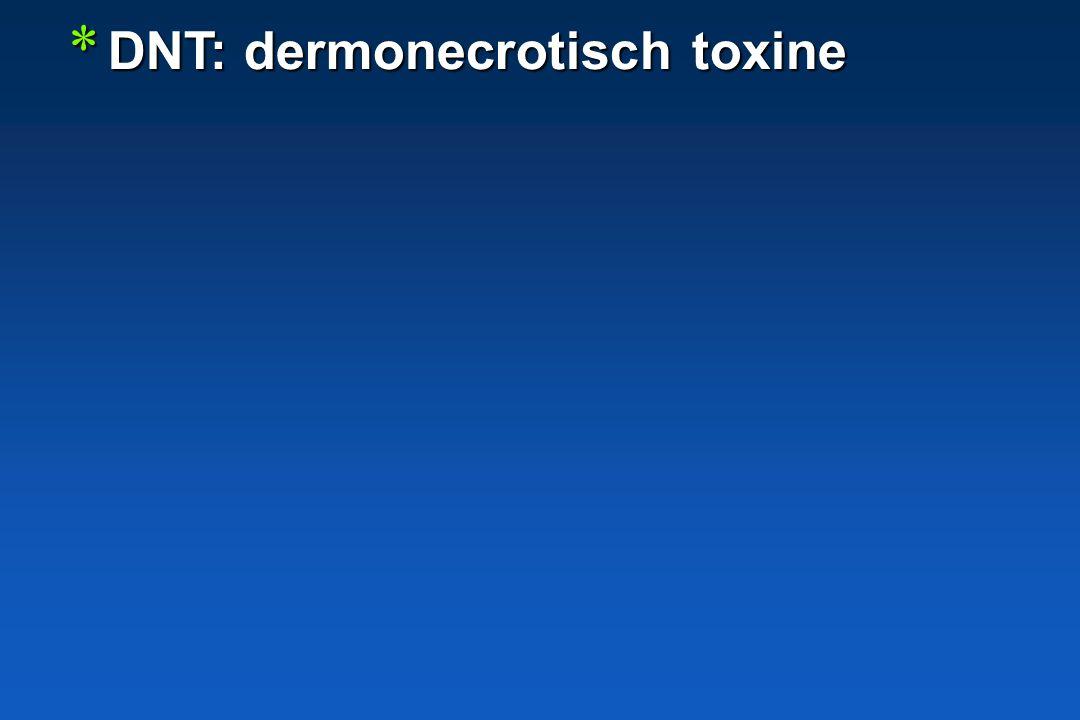 DNT: dermonecrotisch toxine