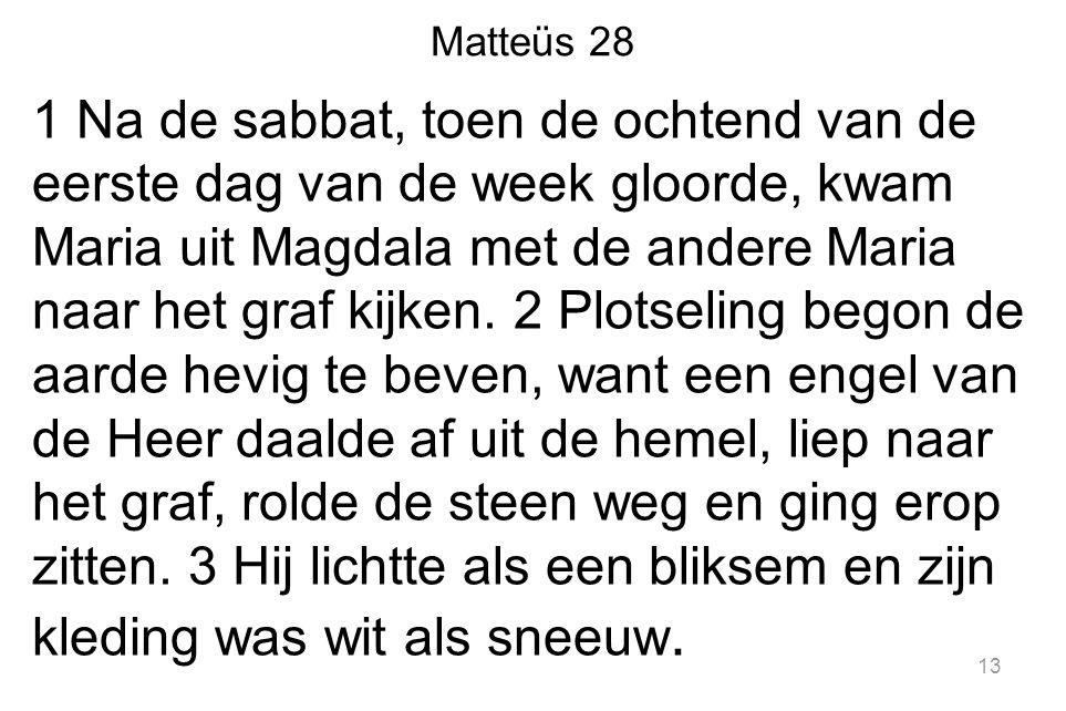 Matteüs 28