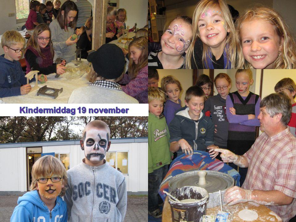 Kindermiddag 19 november