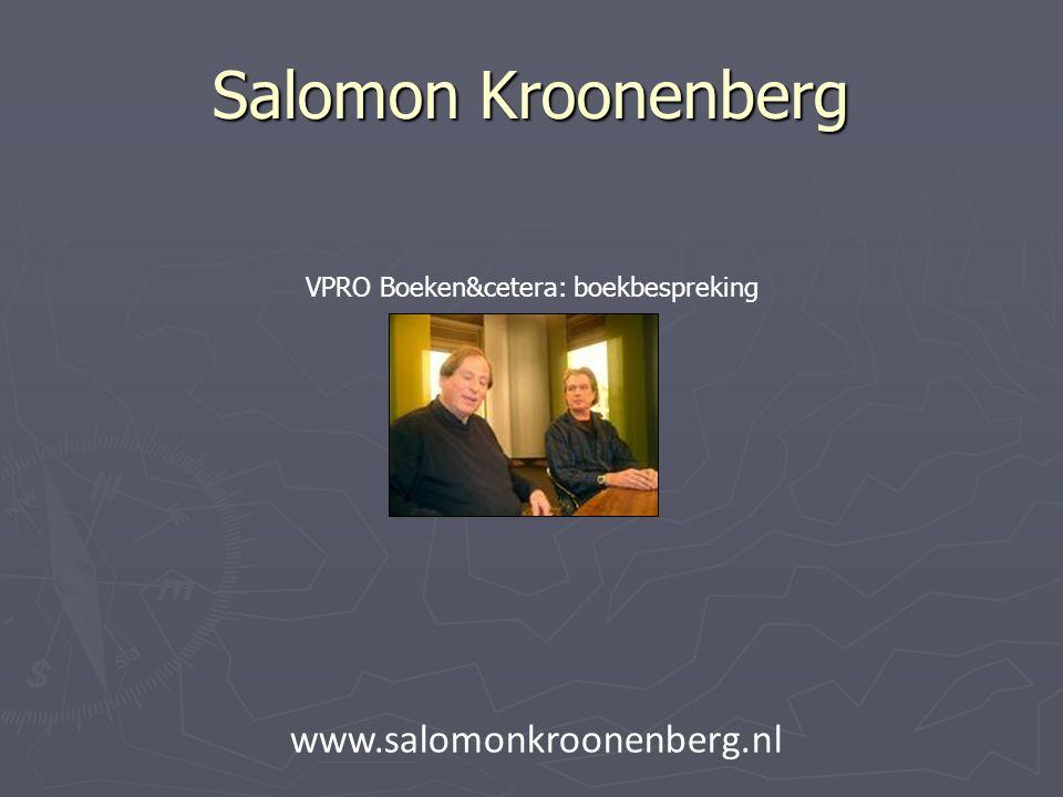 VPRO Boeken&cetera: boekbespreking