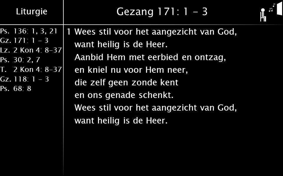 Gezang 171: 1 - 3