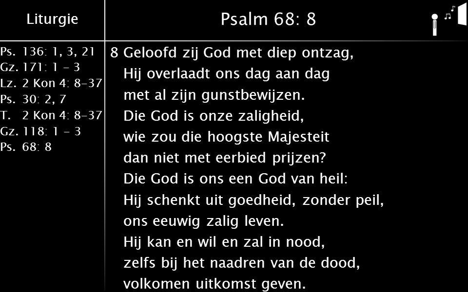 Psalm 68: 8