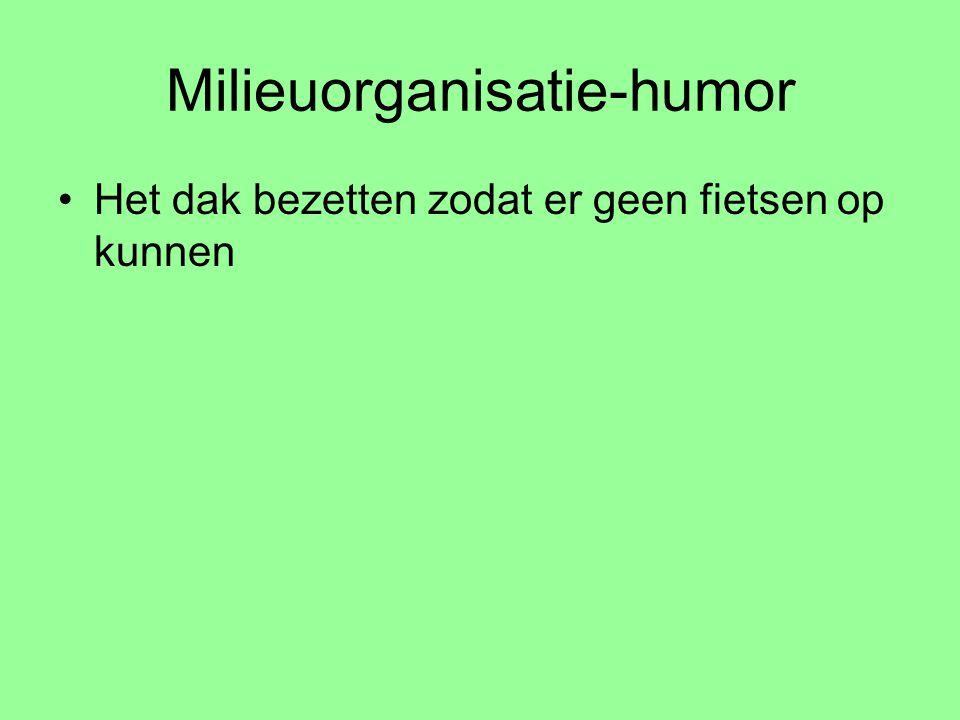 Milieuorganisatie-humor