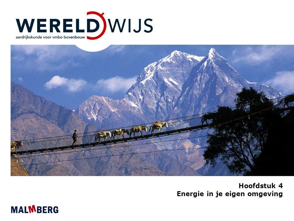 Hoofdstuk 4 Energie in je eigen omgeving