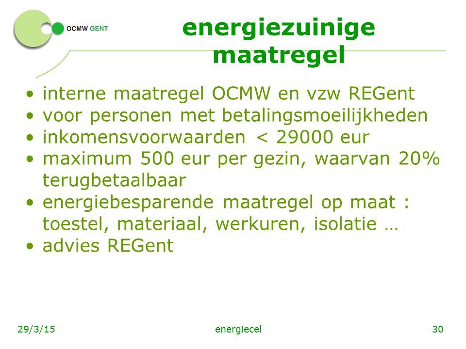 energiezuinige maatregel