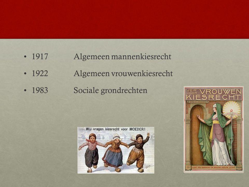 1917 Algemeen mannenkiesrecht