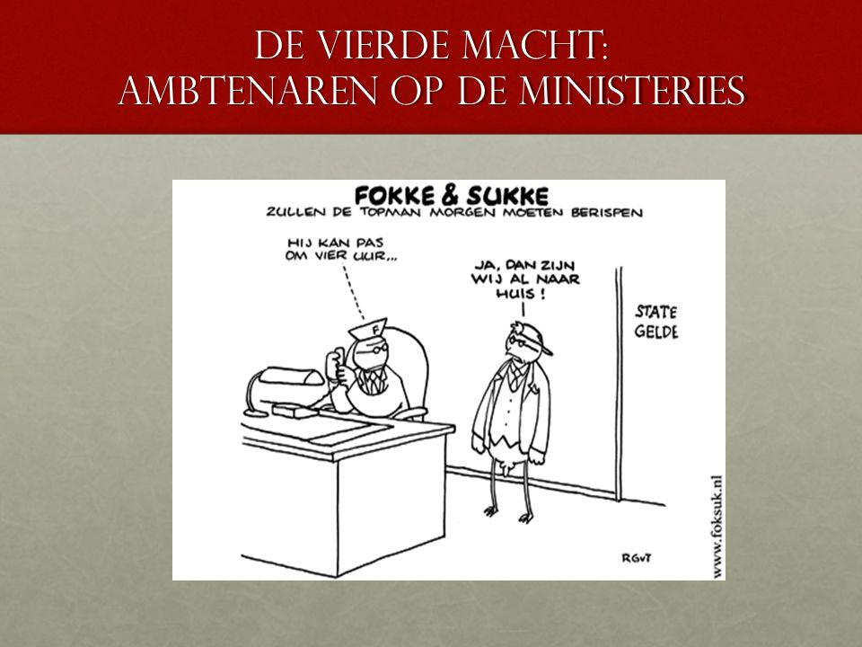 De vierde macht: Ambtenaren op de ministeries