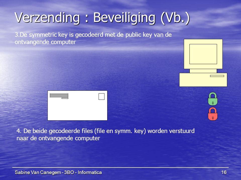 Verzending : Beveiliging (Vb.)