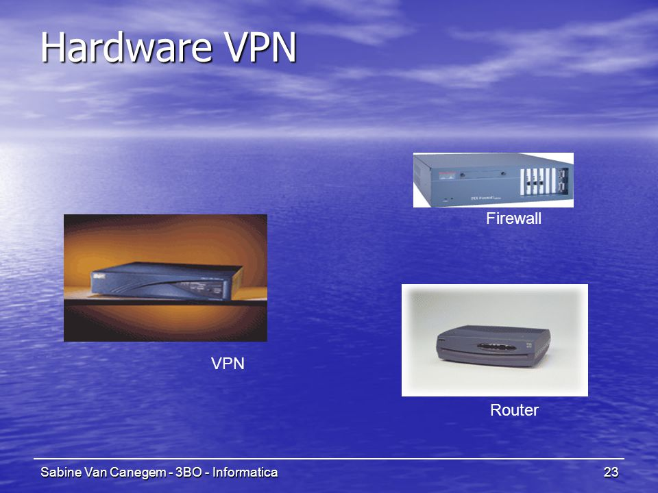 Hardware VPN Firewall VPN Router