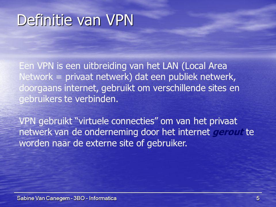 Definitie van VPN
