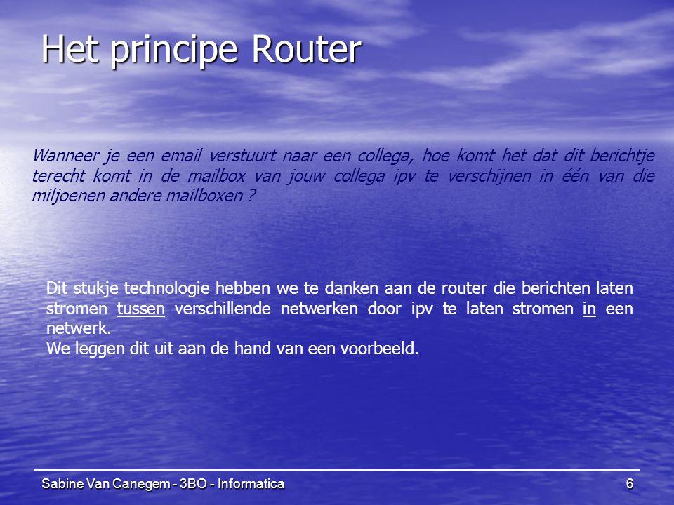 Het principe Router