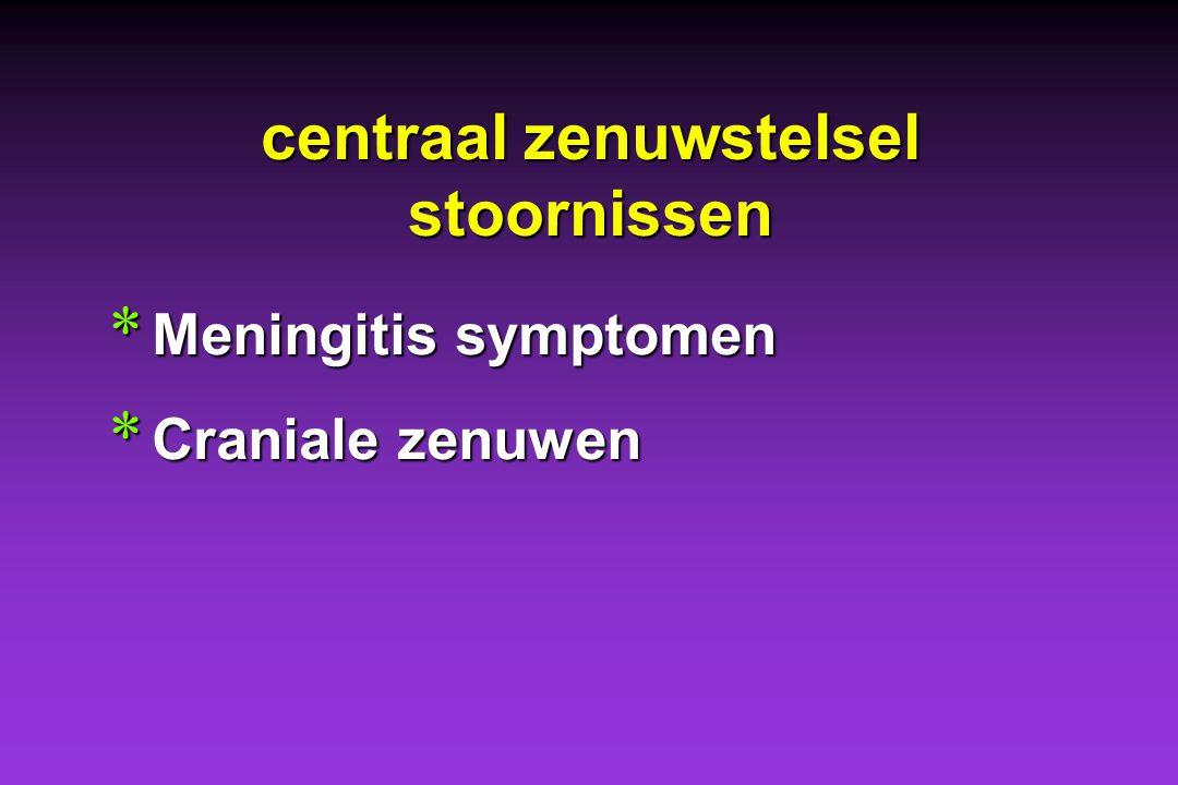 centraal zenuwstelsel stoornissen