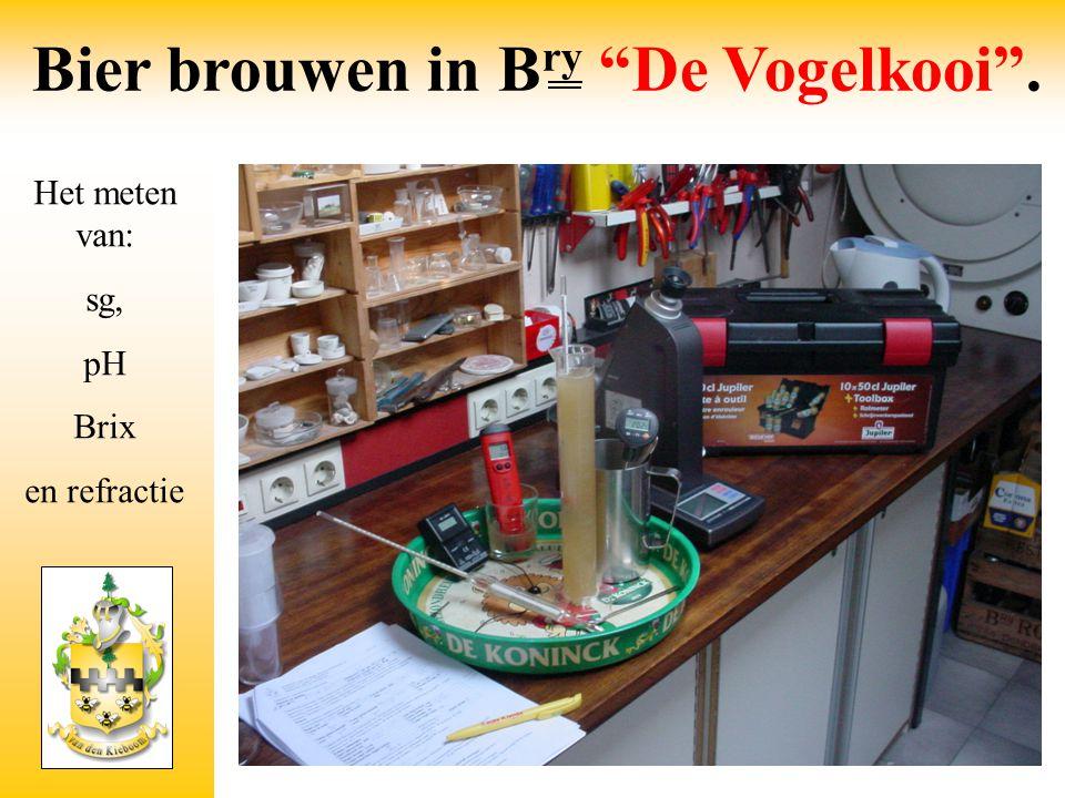 Bier brouwen in Bry De Vogelkooi .