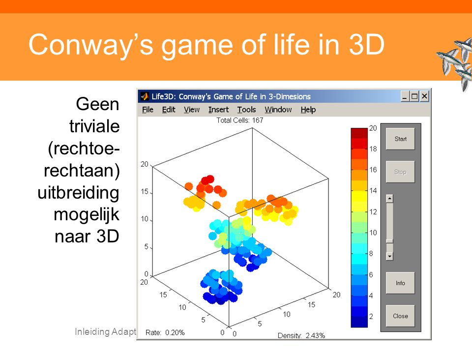 Conway's game of life in 3D