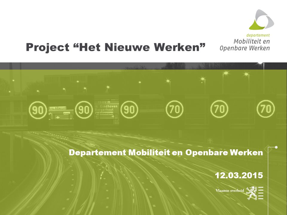 Project Het Nieuwe Werken