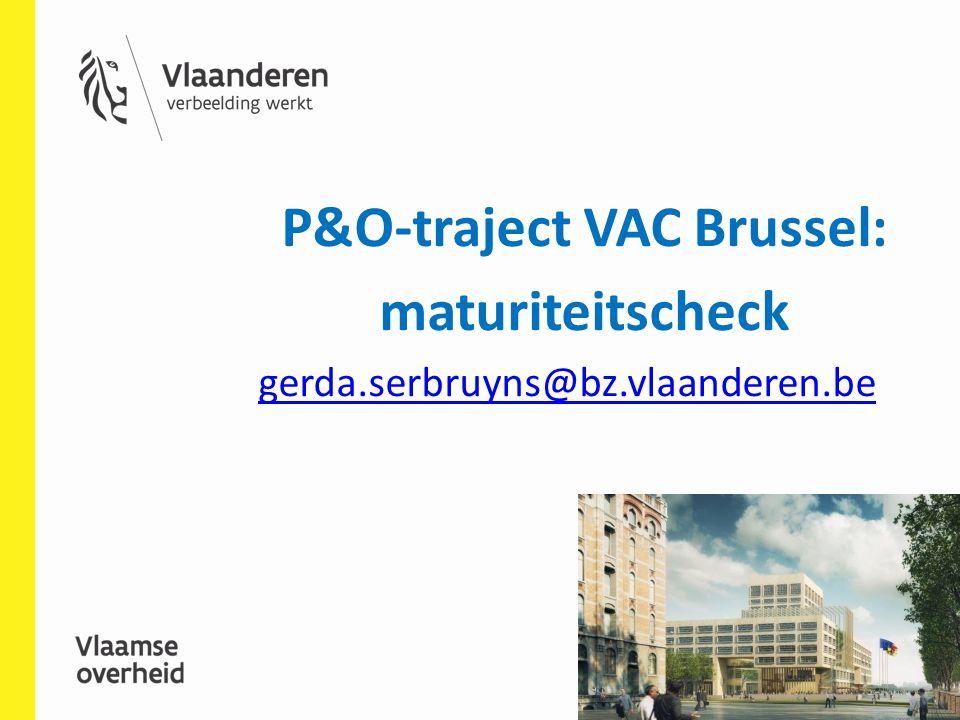 P&O-traject VAC Brussel: