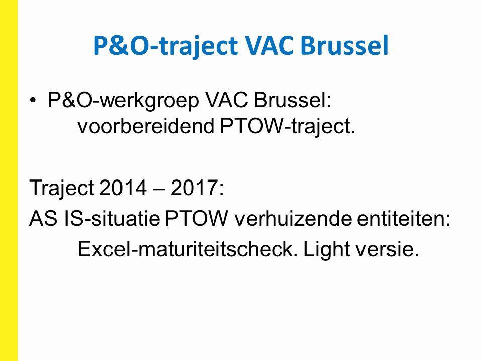 P&O-traject VAC Brussel