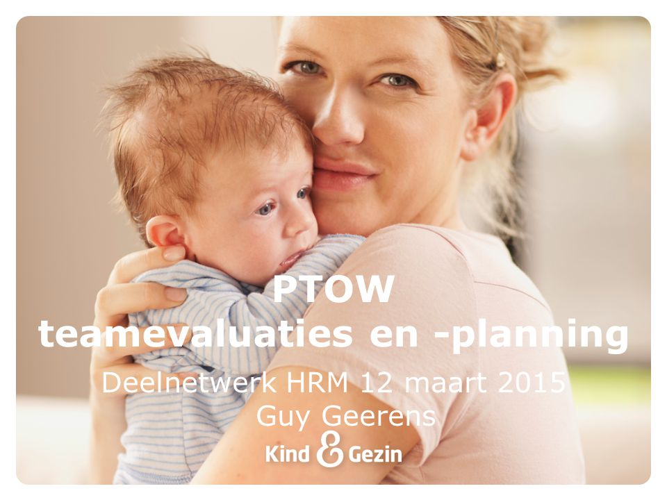 PTOW teamevaluaties en -planning