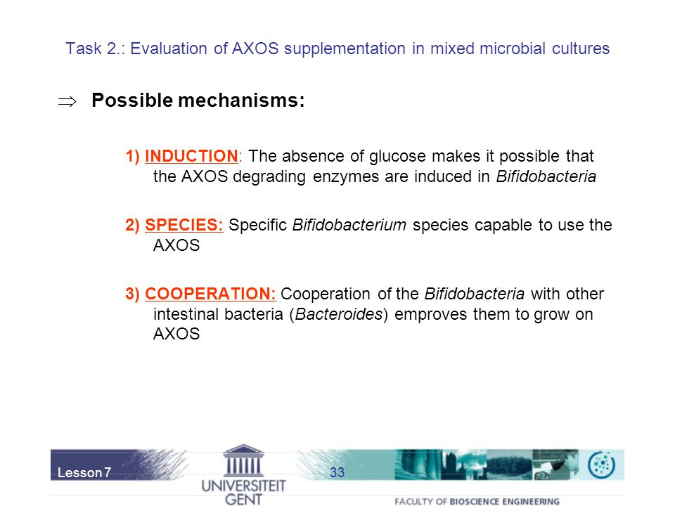 Task 2.: Evaluation of AXOS supplementation in mixed microbial cultures