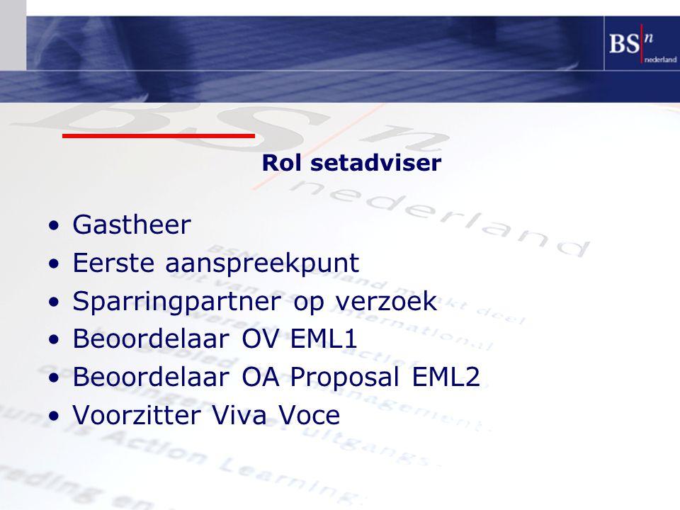 Sparringpartner op verzoek Beoordelaar OV EML1