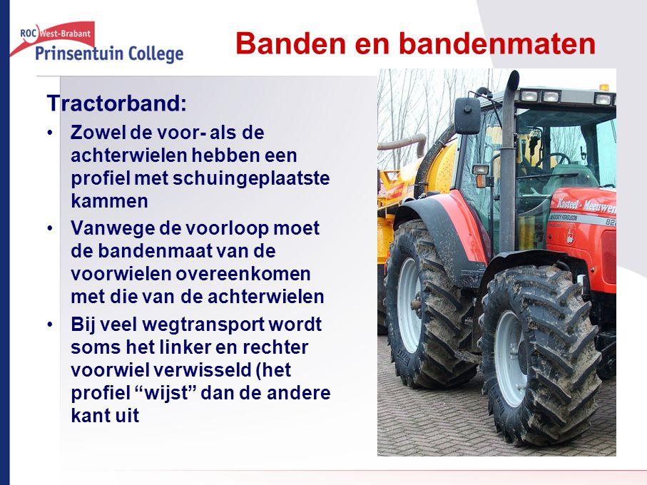 Banden en bandenmaten Tractorband: