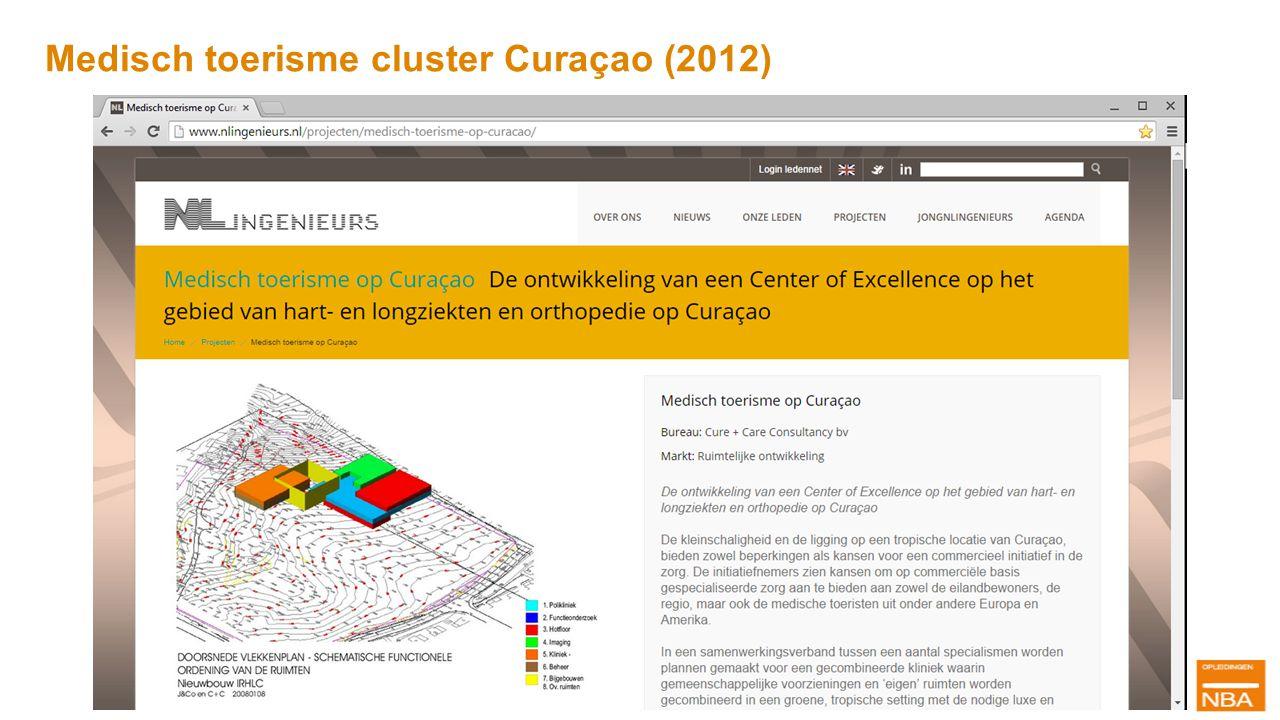 Medisch toerisme cluster Curaçao (2012)