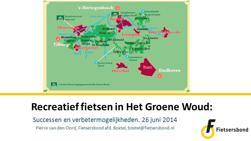 Recreatief fietsen in Het Groene Woud: