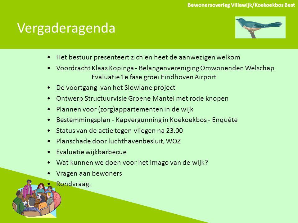 Bewonersoverleg Villawijk/Koekoekbos Best