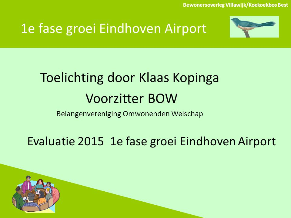 1e fase groei Eindhoven Airport