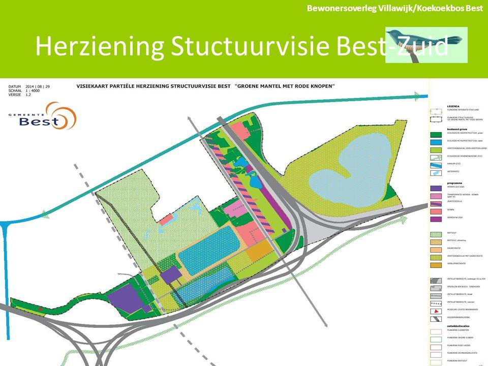 Herziening Stuctuurvisie Best-Zuid