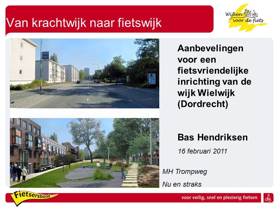 Van krachtwijk naar fietswijk