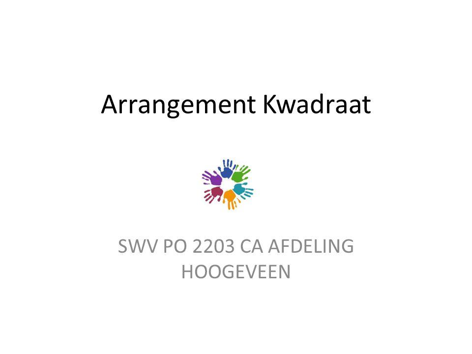 SWV PO 2203 CA AFDELING HOOGEVEEN