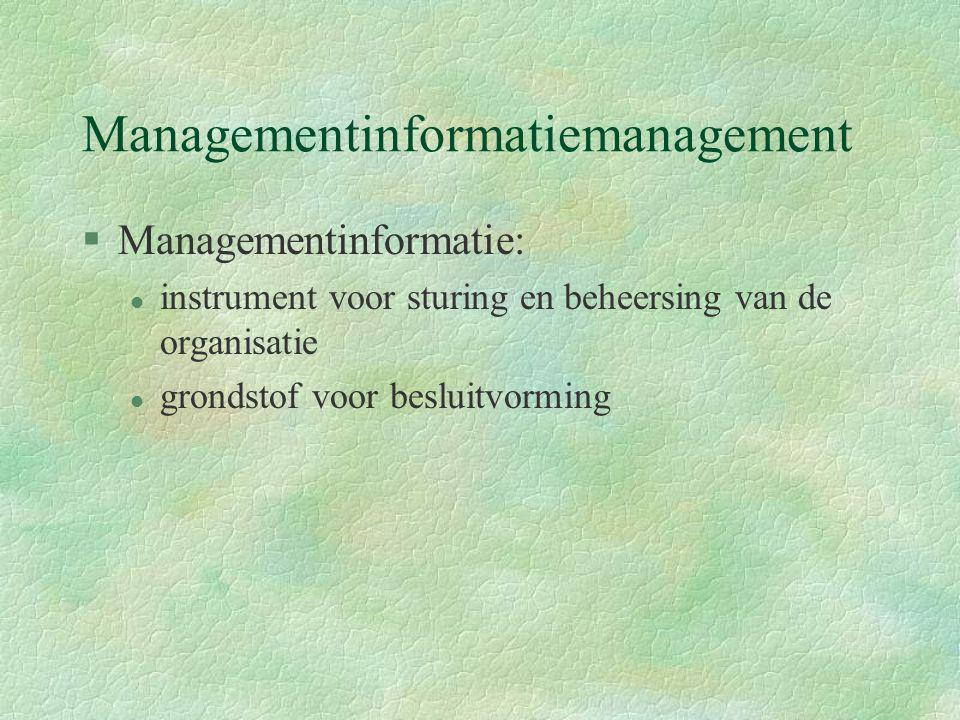Managementinformatiemanagement
