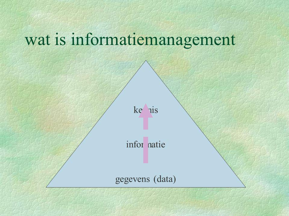 wat is informatiemanagement