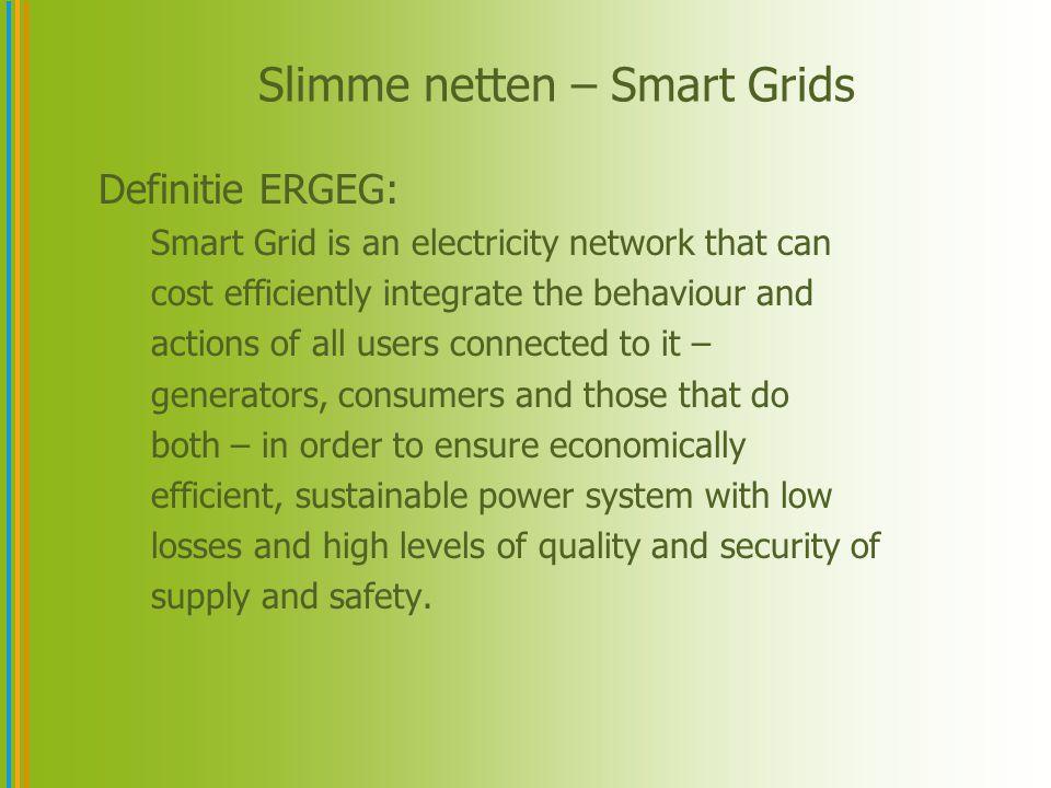 Slimme netten – Smart Grids