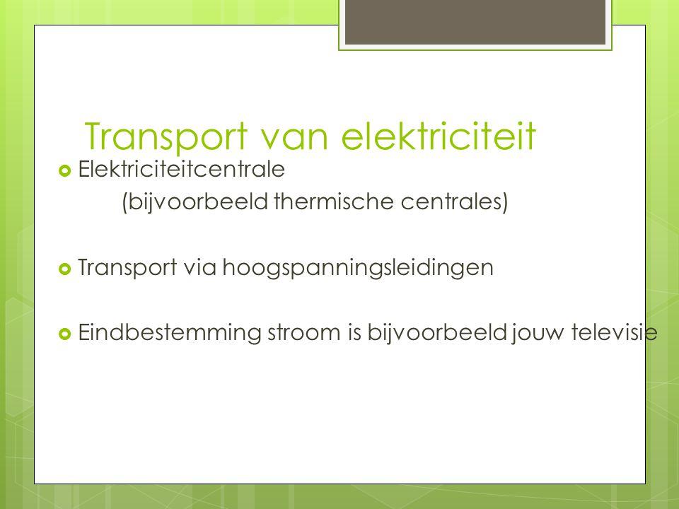 Transport van elektriciteit