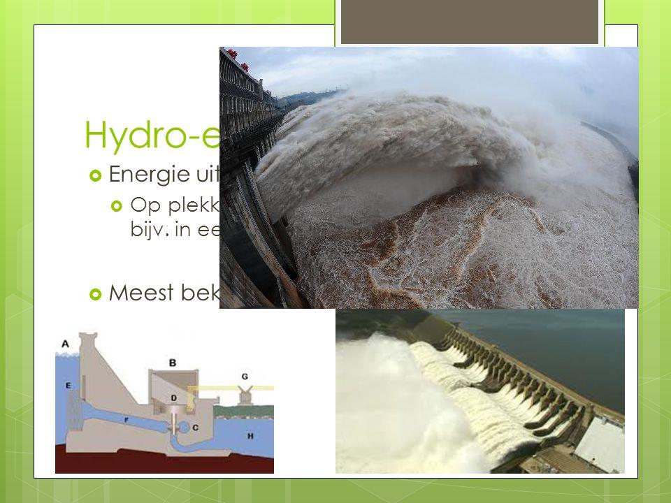Hydro-elektrische energie