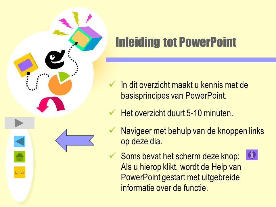 Inleiding tot PowerPoint