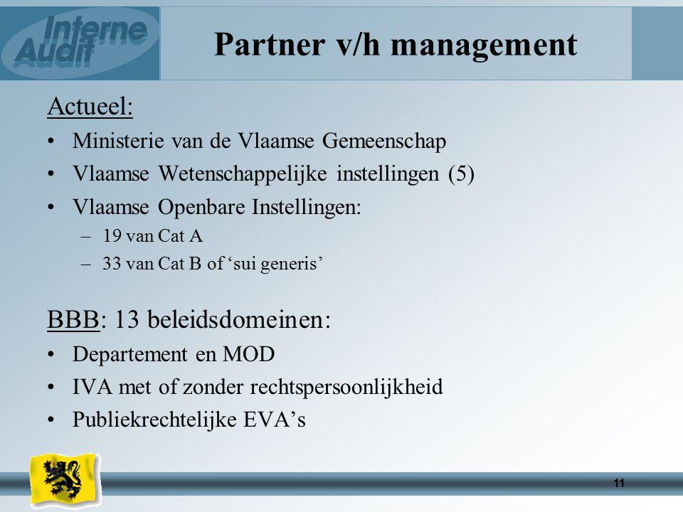 Partner v/h management