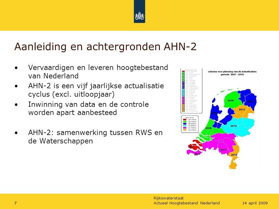 Aanleiding en achtergronden AHN-2
