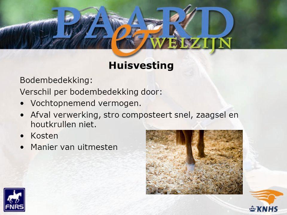 Huisvesting Bodembedekking: Verschil per bodembedekking door: